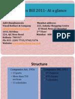 Companies Bill 2011