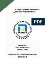 Pengendalian Siklus Transaksi Pada Proses Penggajian Dan Produksi