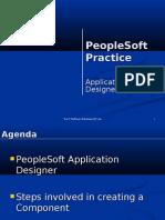 PeopleSoft Application Designer Practice 8.43