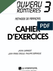 Le Nouveau Sans Frontieres 1 Решебник