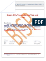 SQL Tuning Basic Tips and Trciks