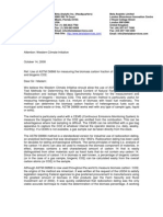 Beta Analytic's Public Comment on Western Climate Initiative Mandatory Reporting Requirements