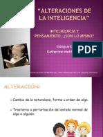 Alteraciones de La Inteligencia1