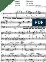 Haydn - Piano Concerto in D Major, Hob.XVIII-11