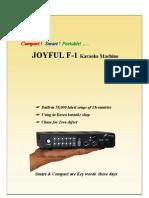 Portable Usb Karaoke Introduction