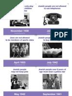 Anti-jewish Laws - Card Sorting Activity