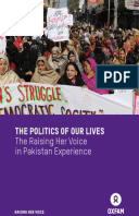 The Politics of Our Lives: The Raising Her Voice in Pakistan Experience