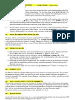 01 Supply Demand Activities
