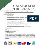 Legislative Priorities - June 2013