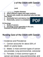 Nursing Care of Client With Cancer