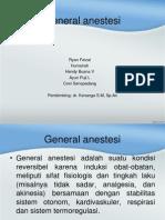 General Anasthesia