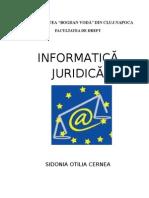 Informatica Juridica IFR Ubv Curs- Sidonia Cernea