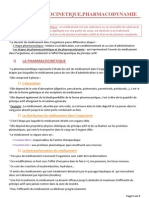 9 pharmacocinetique pharmacodynamie