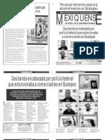 Versión impresa del periódico El mexiquense  27 junio 2013