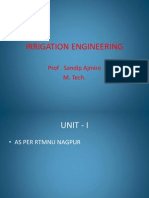 Irrigation Eng