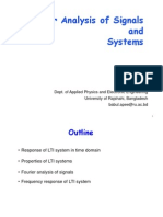 Fourier Analysis of Signals and Systems