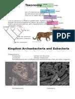 taxonomy booklet