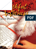 The Faithful Witness - By Sharon Thomas Crews