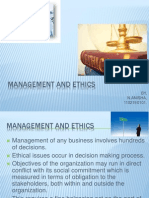 Management and Ethics