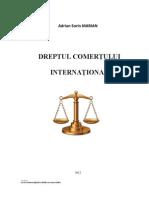 D3203 Dreptul Comertului Internat