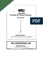 MFJ-2286 manual