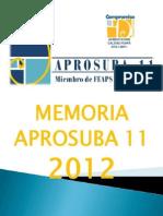 Memoria Asociacion 2012