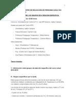 REUNIÓN EN EL CENTRO DE EDUCACIÓN DE PERSONAS ADULTAS JOSE Mª IRIBARREN