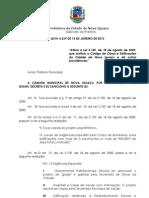 Lei 4.239 Altera código de obras