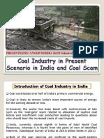 Coal Industry in Present Scenario in India (Coal Scam) (1)