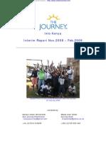 Journey Into Kenya, Interim Report 02 09