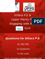 Asia Skype Quiz for Killara