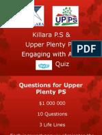 Asia Skype Quiz for UPPS