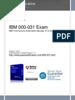 000-031 Exam