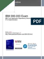 000-033 Exam
