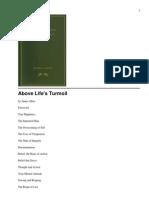 Above Life s Turmoil - By James Allen