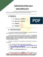 BASES XV MARATÓN FS 13