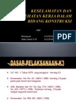 Presentasi k3 (Pak Bintang)
