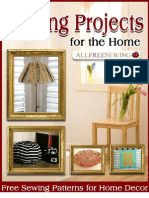 8 Easy Sewing Projects for the Home Free Sewing Patterns for Home Decor