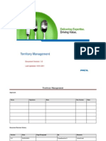 Territory Management - POC