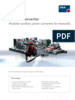 SMA SMARTconverter Monorails en Version 07 2012