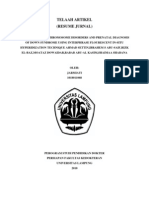 Diagnosis of Sex Chromosome Disorders and Prenatal Diagnosis of Down Syndrome Using