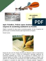 Após Telexfree, Polícia apura denúncia contra outra empresa de marketing multinível na Paraíba