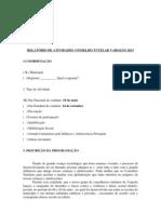 MODELO RELATÓRIO DE ATIVIDADES