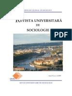 Revista Universitara Sociologie Nr2 2009