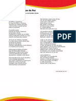 Estudo Poema Anjos da Paz e Glossário