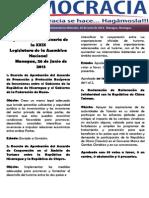 Barómetro Legislativo Diario del miércoles, 26 de junio de 2013.pdf