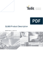 Telit SL869 Product Description r4