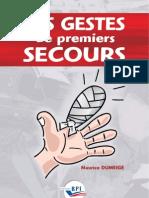E1787 Les Gestes de Premiers Secours