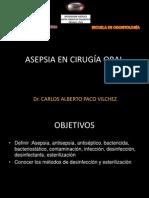 Asepsia en cirugía oral-Dr Paco