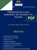 Preparación prequirúrgica-Dr Paco